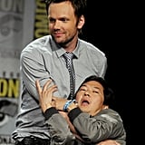 Joel McHale and Ken Jeong