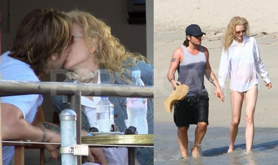 Nicole and Keith Make Up for Lost Time in St. Barth