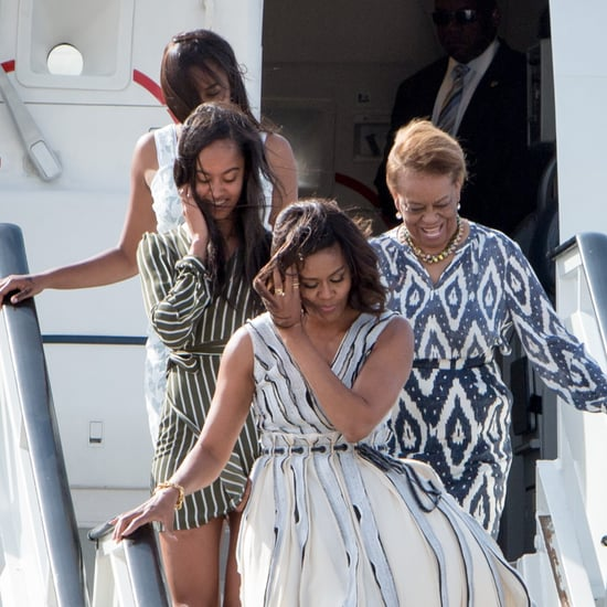 Michelle, Malia, and Sasha Obama in Spain 2016
