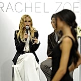 Rachel Zoe presented her collection in San Diego at Nordstrom.