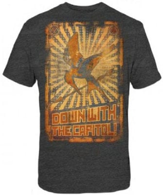 The Hunger Games Down With the Capitol T-shirt ($18)