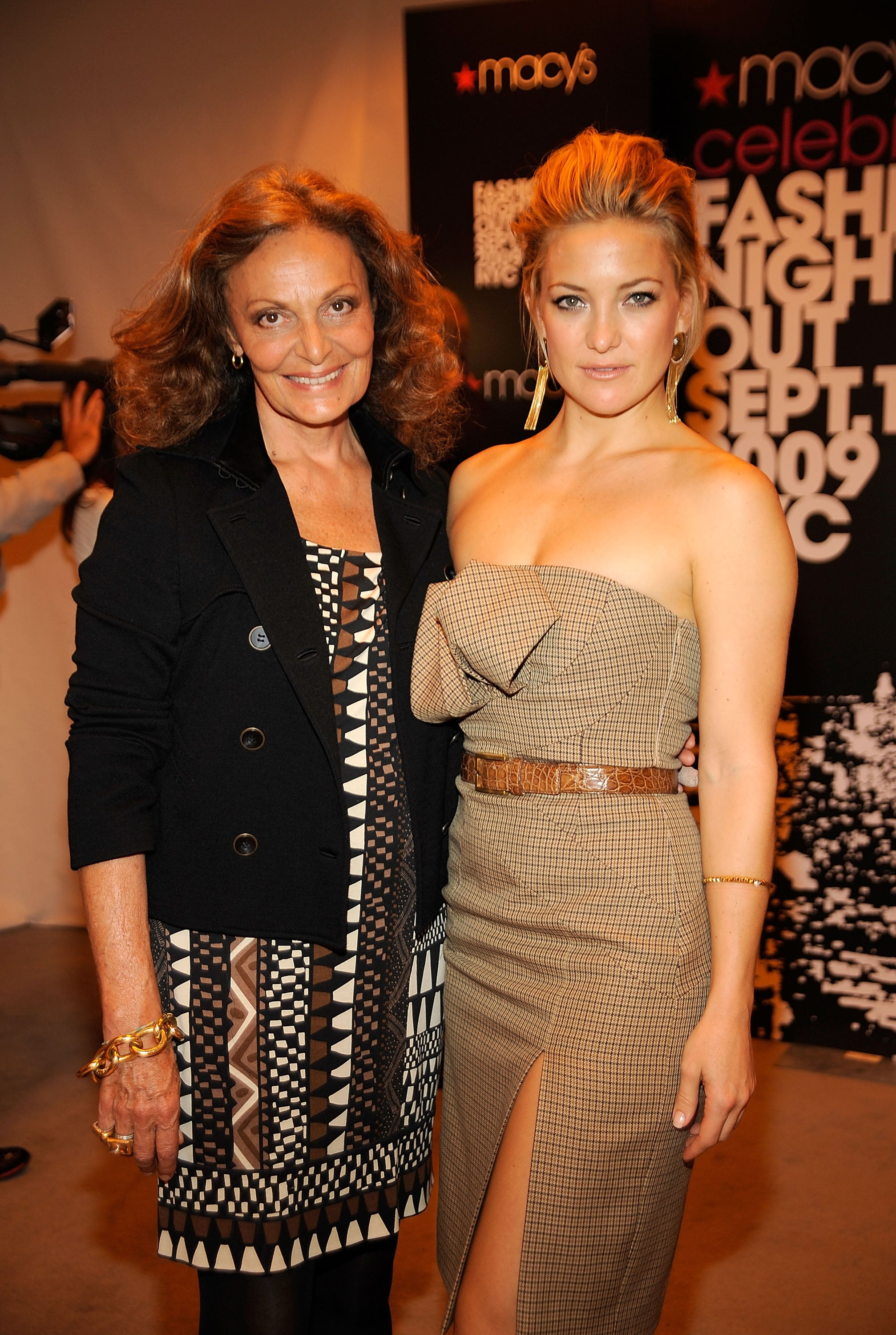 DVF and Kate celebrate
