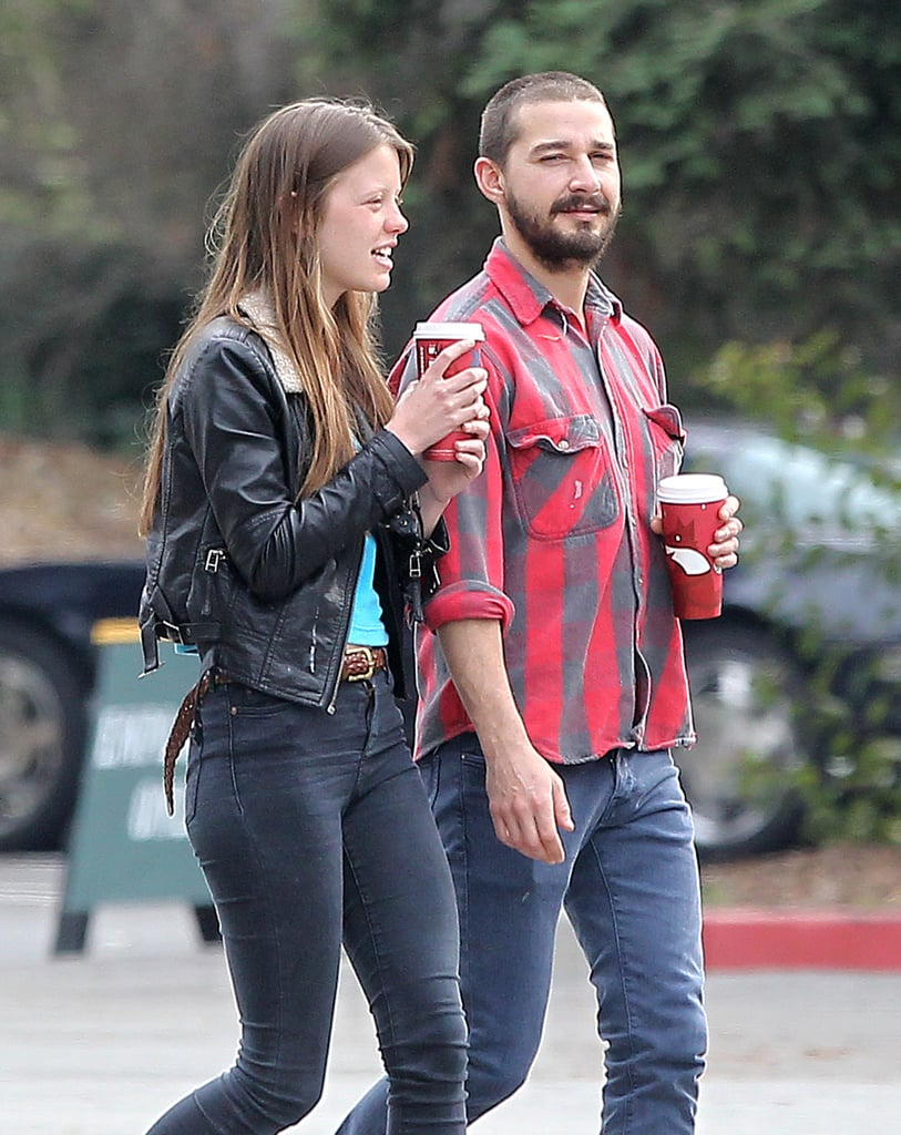 Shia Labeouf With Girlfriend Mia Goth | Pictures