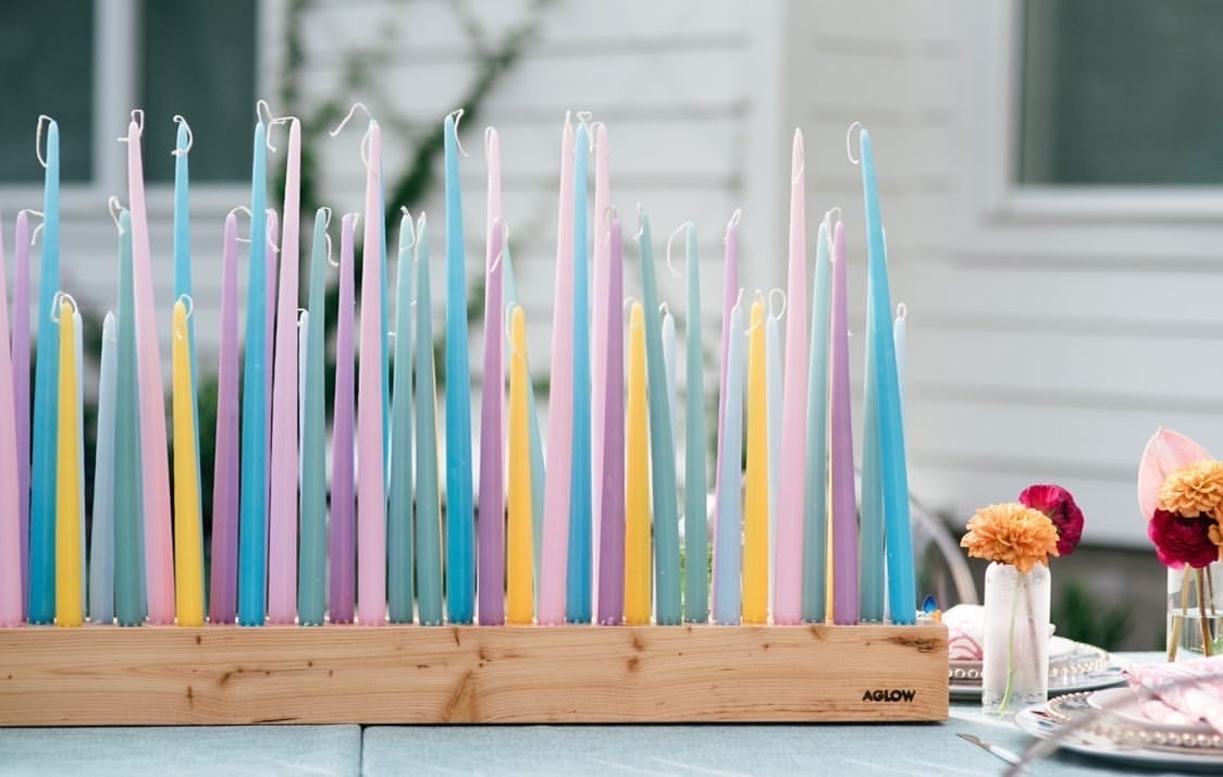 These Candle Centerpieces From Aglow Will Light Up Your Home Popsugar Home
