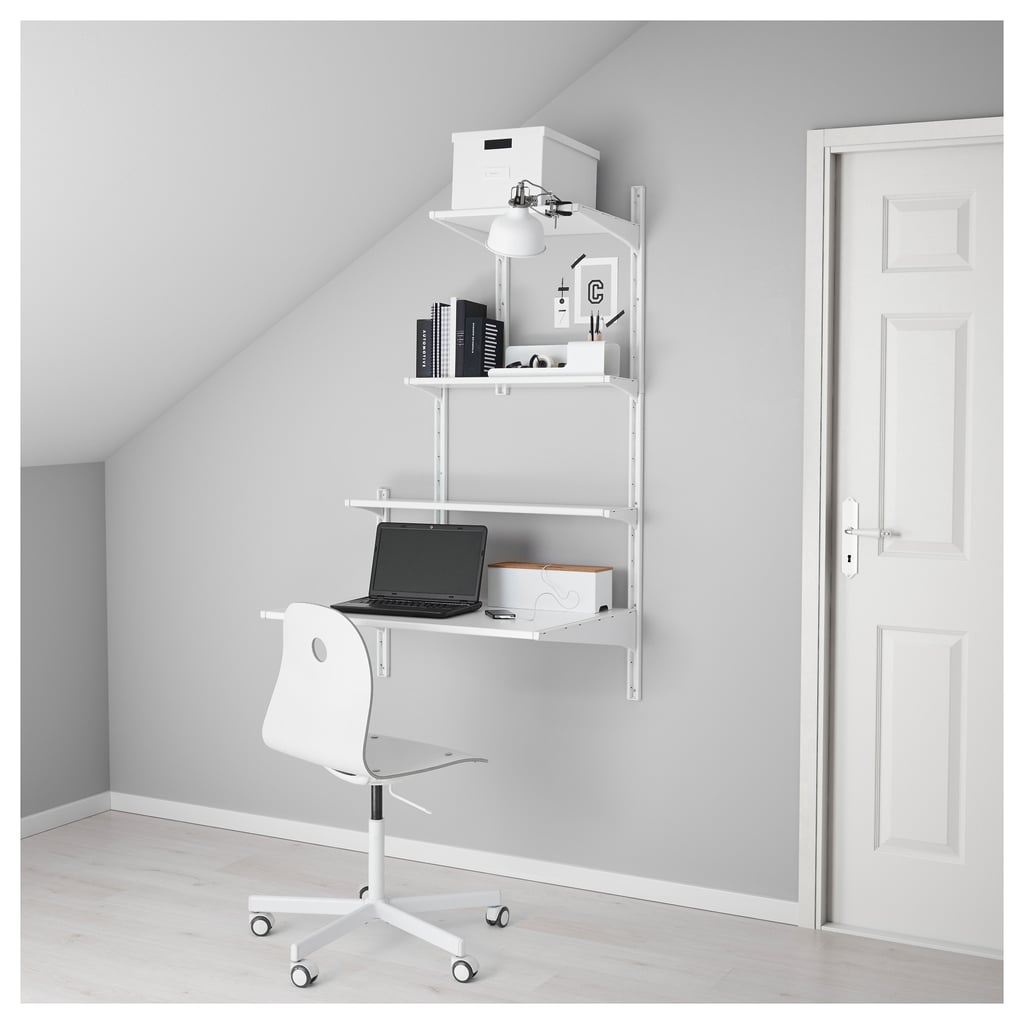 Wall Upright and Shelves