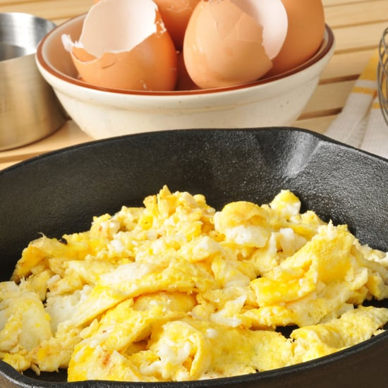 Scrambled Eggs With Water