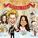 Royal Wedding Commemorative Tea Box
