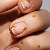 Winter Nail Art Trend: Champagne Bubbles