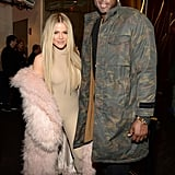 Khloé Kardashian and Lamar Odom.