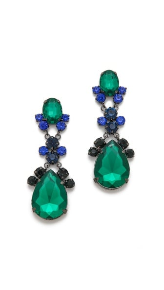 You can rest assured that these Adia Kibur Crystal Teardrop Earrings ($30) will come in handy through the holidays.