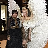 Pictured: Kris Jenner and Katy Perry