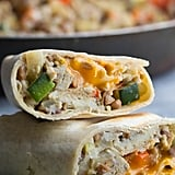 Zucchini and Lentil Breakfast Burritos
