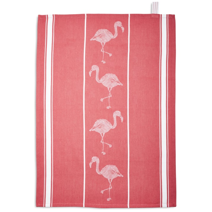 Flamingo Jacquard Kitchen Towel ($20)