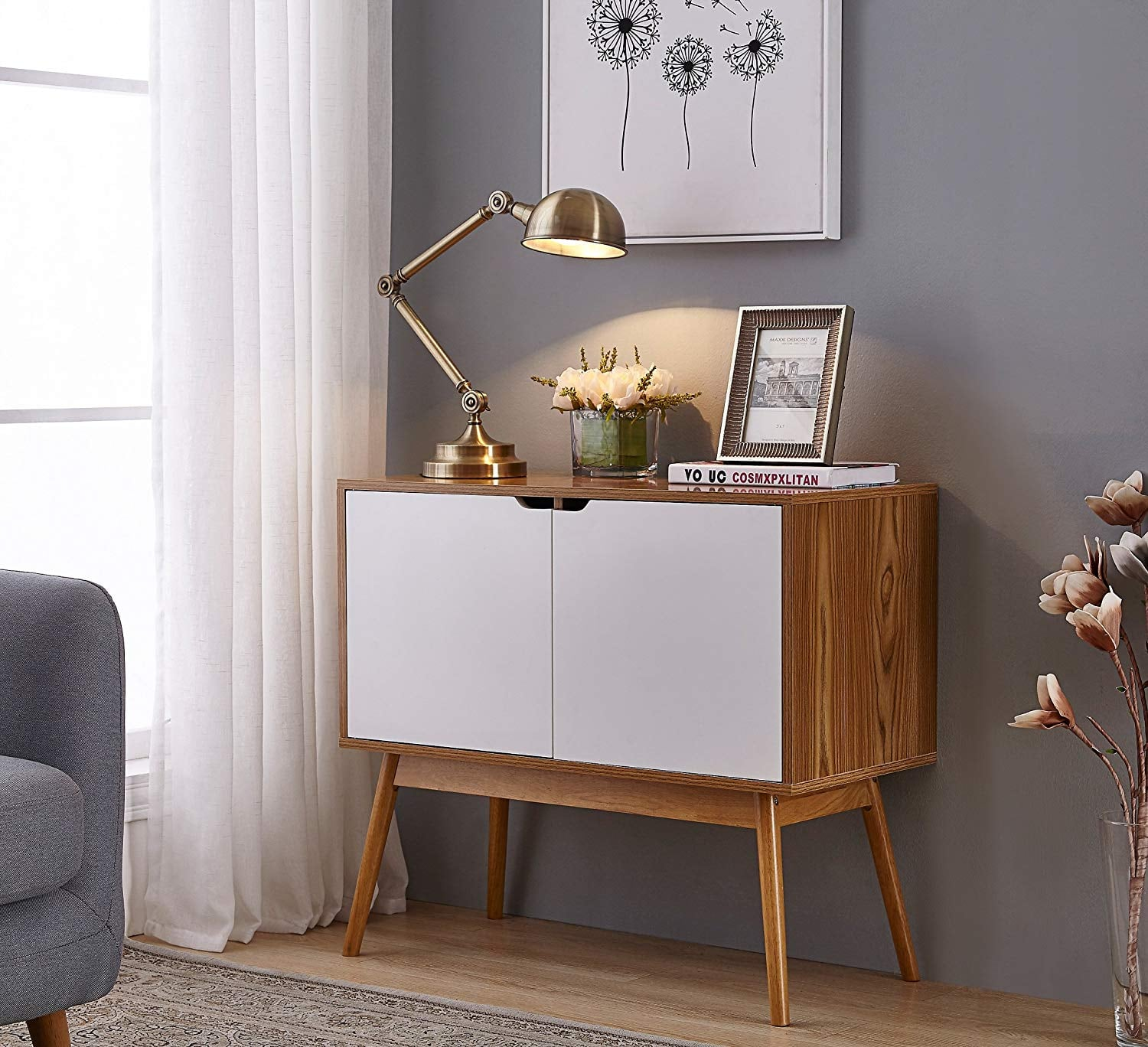 Console Table Storage Cabinet The 50 Best Furniture Pieces You Can Shop On The Internet For Under 200 Popsugar Home Photo 14