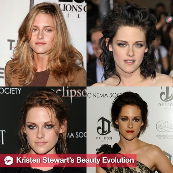 Kristen Stewart's Hair and Makeup Over Time