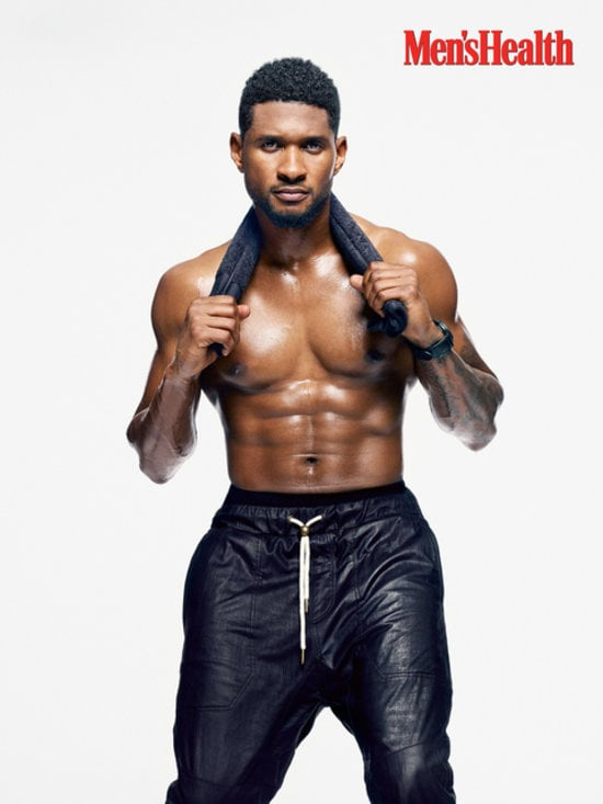 Usher with no shirt that can