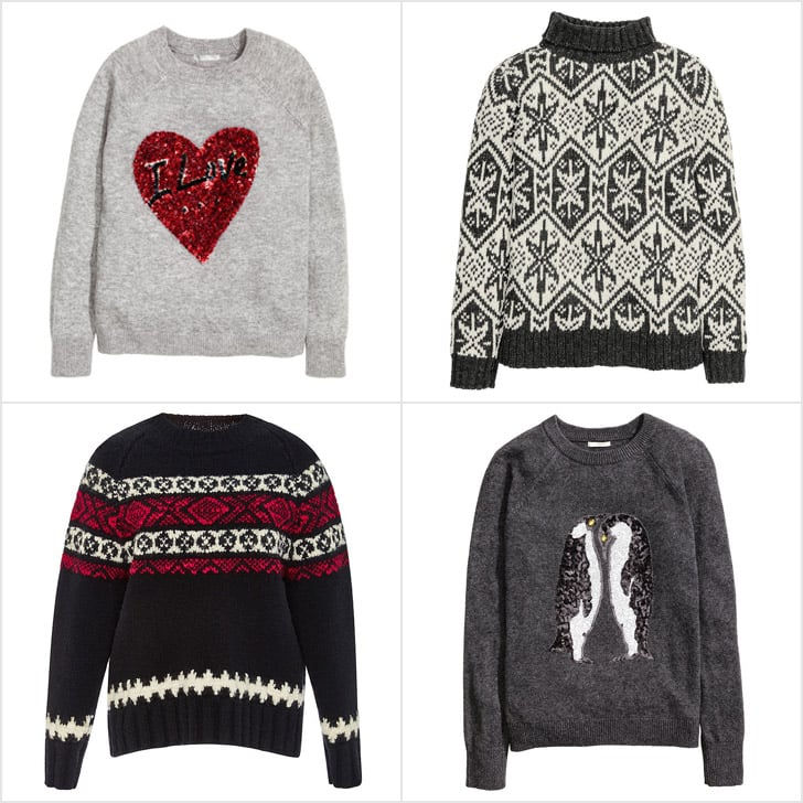 50 Festive And Fashionable Christmas Jumpers And Sweaters Popsugar