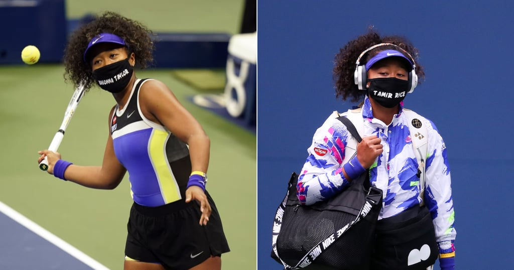 Naomi Osaka's Social-Justice Masks at the 2020 US Open