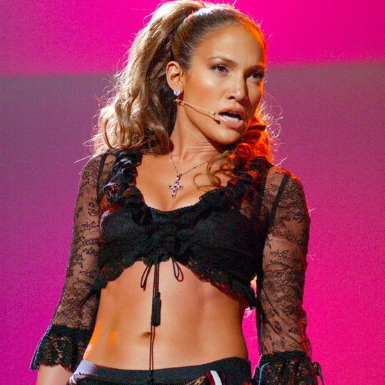 Jennifer Lopez's Abs Pictures