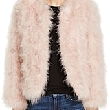 Pellobello Fluffy Feather Jacket
