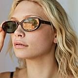 Everly Oval Sunglasses