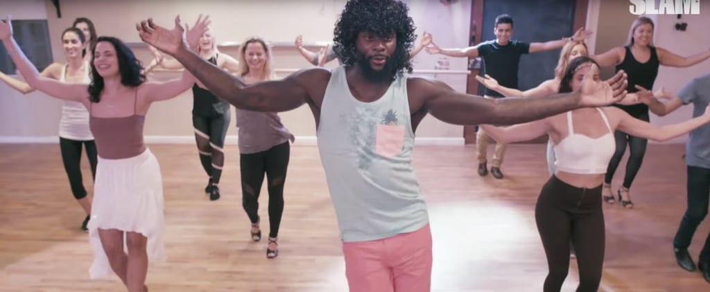Lance Stephenson Surprises Zumba Class Video