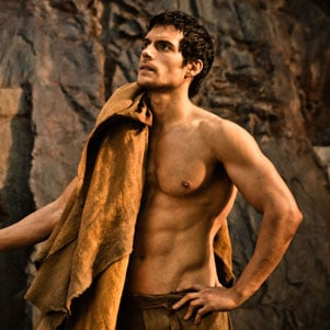 Immortals Movie Pictures of Henry Cavill and Kellan Lutz