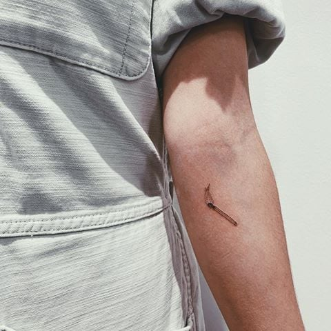 25 Examples of the Modern-Object Tattoo Trend