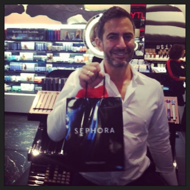 Everyone is excited about the launch of Marc Jacobs's first beauty line — even Marc himself! The designer was snapped by Sephora on Instagram shopping the just-released collection. But he wasn't the only one. Click through to see the most beautiful Instagram snaps from last week from your favourite stars.