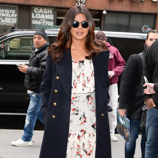 Priyanka Chopra Wearing Marni Dress to Good Morning America
