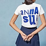 Anna Sui & UO Cropped Tee