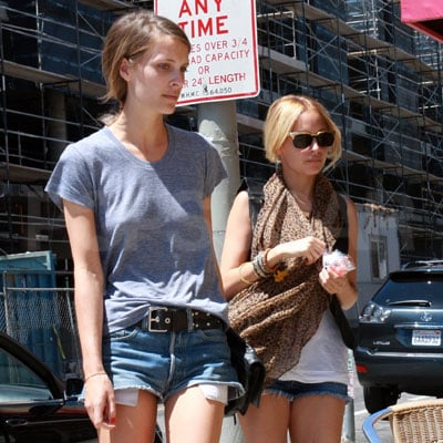 Nicole Richie and Vanessa Traina Get Coffee