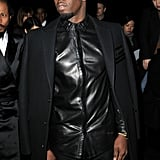 Diddy was at Givenchy.