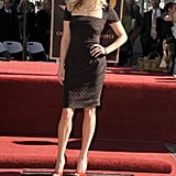 Reese Witherspoon at Her Hollywood Walk of Fame Induction Ceremony in 2010