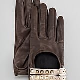 Now these Valentino rocketed driving gloves ($445) give us luxury, edginess, a little bit of glamour, and a little bit of Old Hollywood all rolled into one.