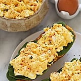 Healthy Egg Salad Boats