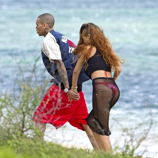 Rihanna Bikini Pictures in Hawaii With Chris Brown