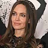 Angelina Jolie Wears Spiked Accessories on the Red Carpet