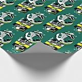 Harry Potter Slytherin House Traits Sigil Wrapping Paper