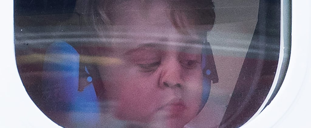 Uh-Oh, There's a Big Issue With Those Cute Pictures of Prince George on a Plane