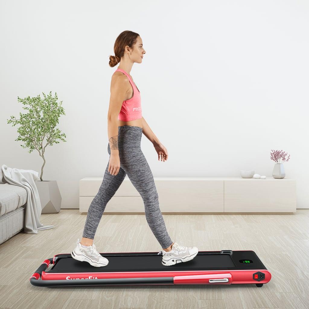 Goplus 2.25HP 2-in-1 Folding Treadmill