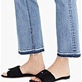 J.Crew Cora Buckle Slide Sandals