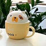 Teagas Cute Funny Fox Ceramic Coffee Mug