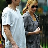 Photos of James Franco and Julia Roberts on Set