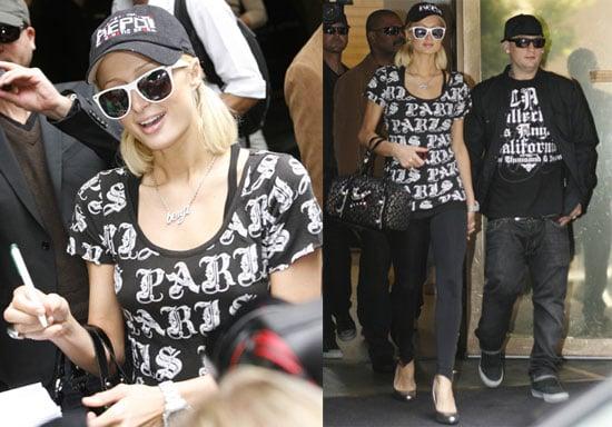Photos of Paris Hilton and Benji Madden in Copenhagen