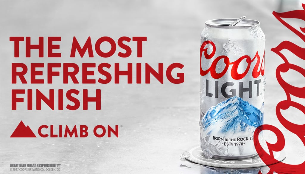 More From Coors Light: