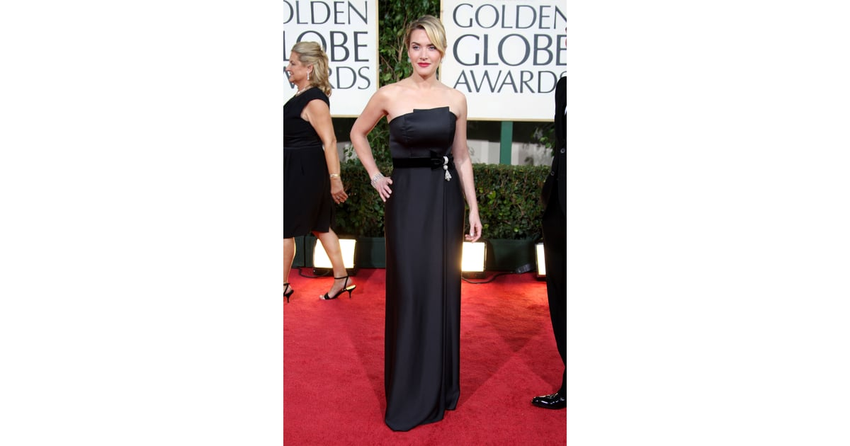 Ysl Kate Laukku : Kate winslet in ysl best golden globes dresses