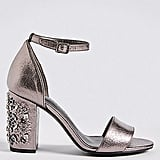 M&S Collection Block Jewel Heel Two-Part Sandals