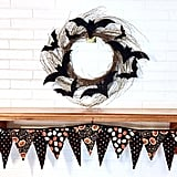 Halloween Bat Wreath