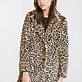 Forever 21 Leopard Print Faux-Fur Coat